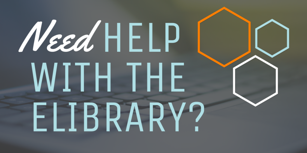 Need eLibrary Help?
